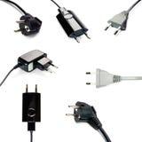 Power plugs Stock Photo