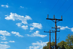 Power Pole Stock Image