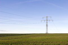 Power pole Royalty Free Stock Images