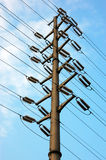 Power Pole Royalty Free Stock Photography