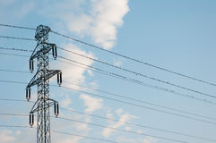 Power pole. Stock Image