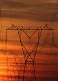 Power poles 108 Stock Photo