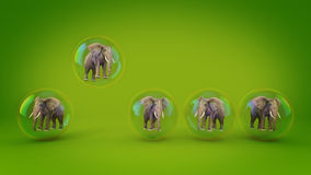 Power Of Possibilities. 3d rendering Royalty Free Stock Photos