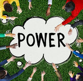 Power Potential Competence Competency Energy Concept royalty free stock image