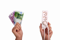 Power price Stock Images