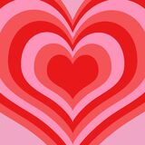 Power Puff Girl Hearts Royalty Free Stock Images