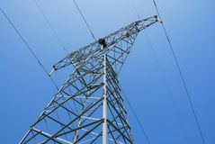 Power pylon Stock Image