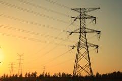 Power pylon Stock Photography
