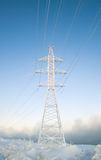 Power pylons Stock Photography