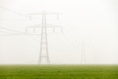 Foggy power Royalty Free Stock Image