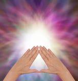 The Power of Pyramid Healing Stock Photos
