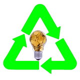 Power and recycling Stock Photography