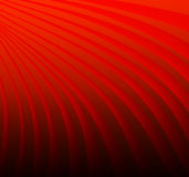 Power of red color curves. On gradient Stock Photo