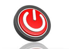 Power round icon Royalty Free Stock Photos