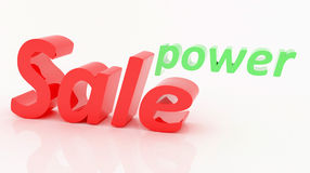 Power of Sale Stock Photos