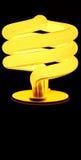 Power-saving bulbs Stock Image