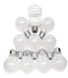 Power saving up electric lamp Stock Photography