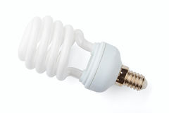 Power saving up lamp Stock Photography