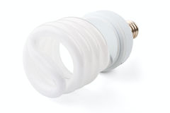 Power saving up lamp Royalty Free Stock Photos