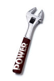 Power screw wrench. Symbolises capacity Stock Images