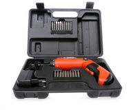 Power screwdriver Stock Images