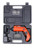 Power screwdriver Stock Photo