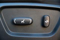 Power Seat Controls stock photos