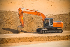 Power shovel Stock Photos