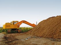 A power shovel Stock Images