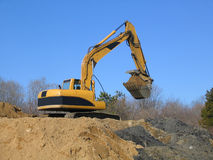 Power Shovel Royalty Free Stock Image
