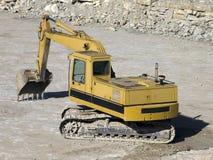 Power shovel Royalty Free Stock Image