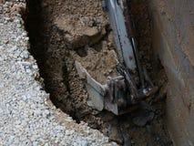 Power shovel Royalty Free Stock Photos