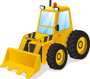 Power shovel truck Stock Photos