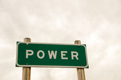 Power Sign Royalty Free Stock Images