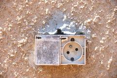 Power socket Stock Photography