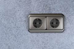 Power socket Stock Images
