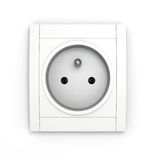 Power socket Stock Image