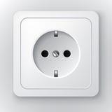 Power socket Royalty Free Stock Image