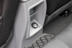 Power or socket plug phone in car Royalty Free Stock Images