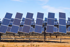 Power  solar panel system Royalty Free Stock Photo
