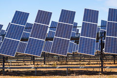 Power solar panel system Royalty Free Stock Photos