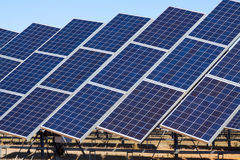 Power  solar panels Stock Photography
