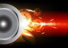 Power of sound Stock Image