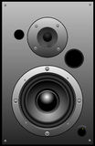 Power speaker Royalty Free Stock Image