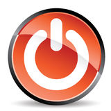 Power standby icon. In vector mode Stock Photo