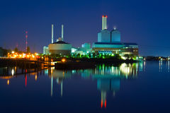 Power Station Stock Image