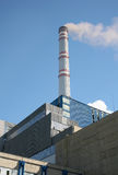 Power station. Electric power generator energy station royalty free stock photo