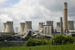Power Station. Europe's Largest Coal Burning Power Station At Ratcliffe-On-Soar, Nottingham, England, U.K Royalty Free Stock Photo