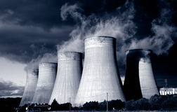 Power Station. Stock Photography