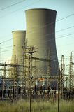 Power Station. Lomofied and Slightly Grainy Image of a Power Station stock photography